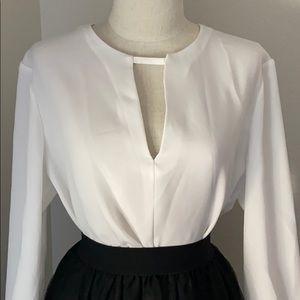 rag & bone white blouse